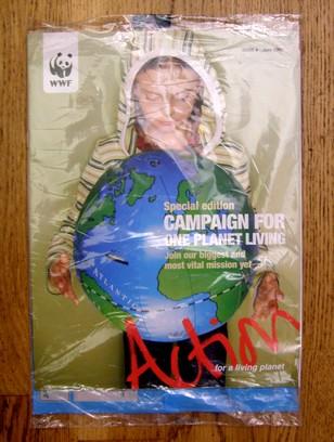WWF plastic wrapper